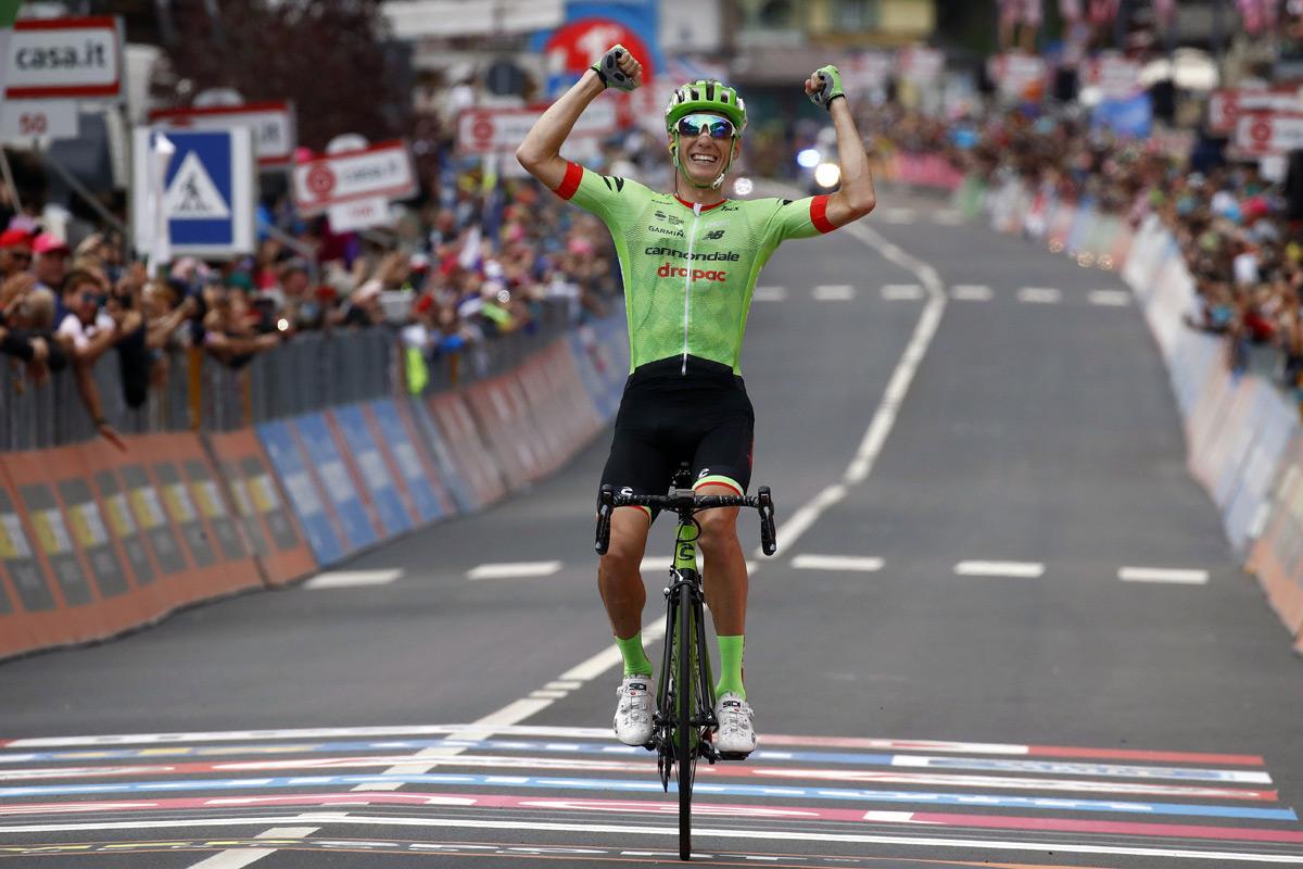 Vítězství Pierre Rollanda v 17 etapě Giro d´Italia