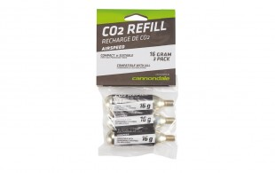 AIRSPEED PREMIUM CO2 REFILL CARTRIDGES 25G 16 ks -